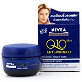 Nivea Visage Q10 Plus Creatine Anti Wrinkle Night Cream 1.7oz. / 50ml