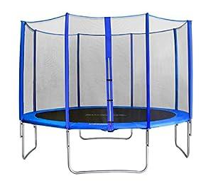 SixBros. SixJump 3,70 M Trampoline de jardin bleu Certifié par Intertek / GS - CST370/L1711