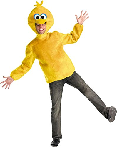 Morris Costumes Men's SESAME ST BIG BIRD ADULT 42-46