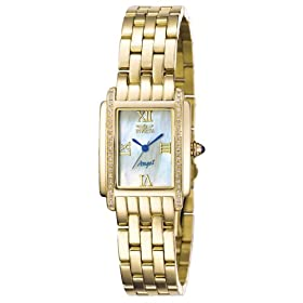 Invicta Women's Wild Flower Collection Lady Diamond Watch and Bracelet Set #4103