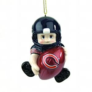 Buy NFL Lil Fan Team Players Ornament - Chicago Bears by SC Sports