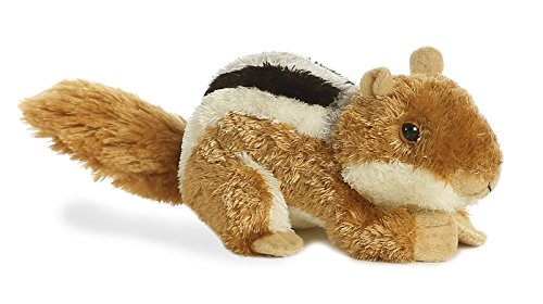 Plush Chip the Chipmunk Stuffed Toy By Aurora 8