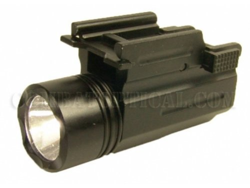 3W 180 Lumen Led Qd Compact Tactical Flashlight