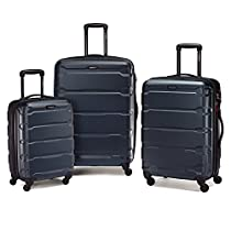 Samsonite Omni PC 3 Piece Set Spinner 20 24 28, Teal, One Size