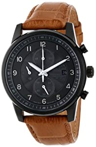 Citizen Men's CA0335-04E Eco-Drive Black Ion Plated Chronograph Watch from Citizen