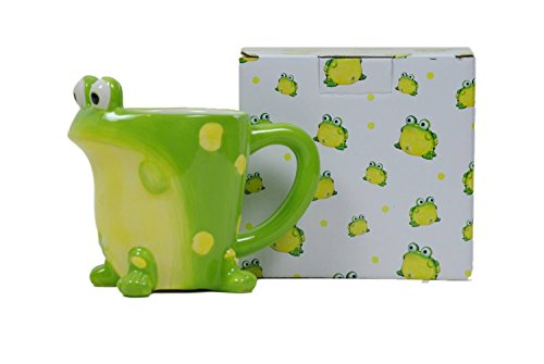 Toby The Toad Frog Coffee Mug Adorable Mug With Gift Box