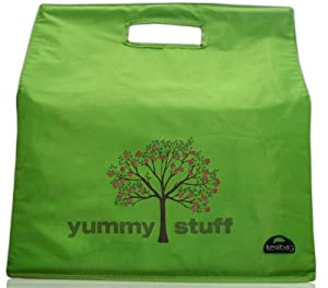 Kerribag Yummy Stuff Reusable Grocery Shopping Tote Bag