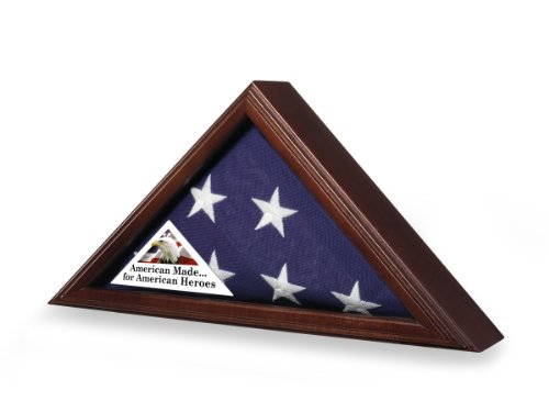 Flag Case for 3x5 Flag - American Made for American Heroes (Display Case 3x5 compare prices)