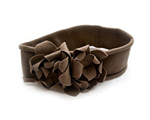 BONAMART ® Fashion Vintage Crochet Baby Girl Boy Flower Hair bands Headband Bows Headwear Pattern Brown
