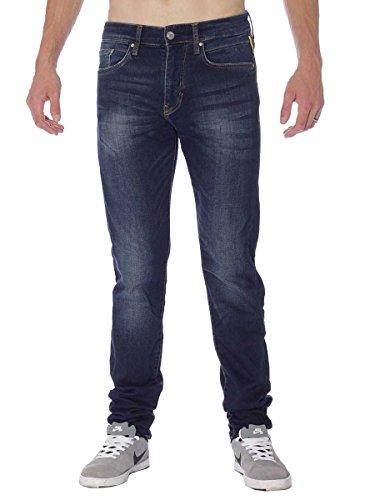Meltin'Pot Miky, Jeans a Gamba Dritta Uomo, Blu, W36/L34 (Taglia Produttore:36)