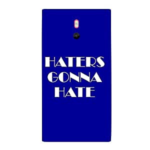 Skin4gadgets HATERS GONNA HATE Phone Skin for NOKIA LUMIA 800