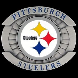 Pittsburgh Steelers Oversized Belt Buckle