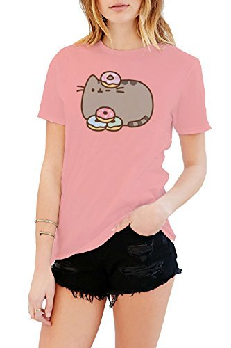 Pusheen The Cat Donuts T-shirt