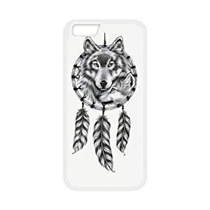super shining day Discount Wolf Dream Catcher TPU Material Snap on Case Cover for 4.7