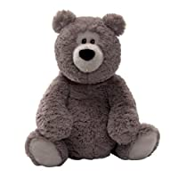 "Gund Rafferty Gray 14"" Bear Plush from Gund"