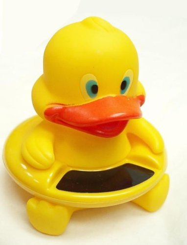 Baby Safety Floating Bath Thermometer Duck Bath Toy