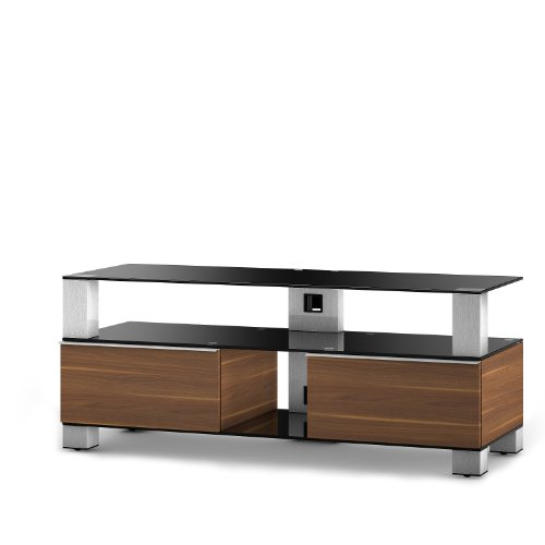 Sonorous Mood TV Unit for Up to 55 inch TVs - Walnut