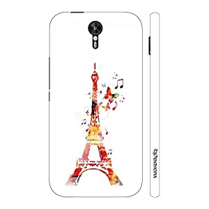 Enthopia Designer Hardshell Case Musical Eiffel Tower Back Cover for Lenovo Zuk Z2 Pro