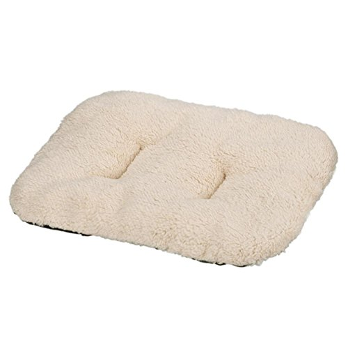 Perman Puppy Blanket Pet Cushion Dog Cat Cotton Carpet Bed Soft Warm Sleep Mat (Beige )