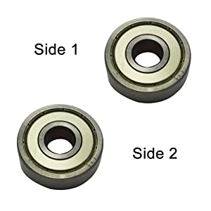 Superior Electric SE 608ZZ Replacement Ball Bearing - 8x22x7 replaces Milwaukee 02-04-0820, Makita 211031-6, Bosch 2610017348 by Superior Electric