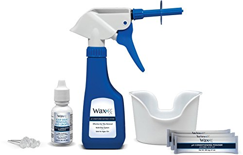 The WaxRx Ear Wash System effectively and safely removes builtup ear wax This is the same system trusted for years in Doctors Offices  now available for home use