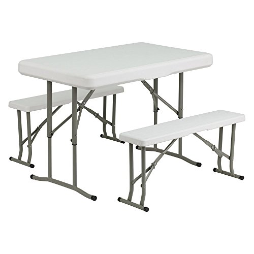 Flash-Furniture-DAD-YCZ-103-40-in-Rectangle-Folding-Table-and-Benches