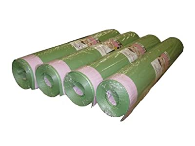 Floor Muffler Floating Wood and Laminate Flooring High-performance Acoustical Underlayment & Moisture Barrier with Self Sealing Overlap System - 4 roll bundle