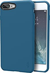 Silk iPhone 7 Plus Grip Case - Base Grip for iPhone 7+ [Slim Fit Lightweight Protective No-Slip Cover] - Blue Jade