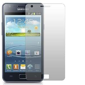 "2 x Slabo Displayschutzfolie Samsung Galaxy S2 Plus Displayschutz Schutzfolie Folie ""Crystal Clear"" unsichtbar MADE IN GERMANY"
