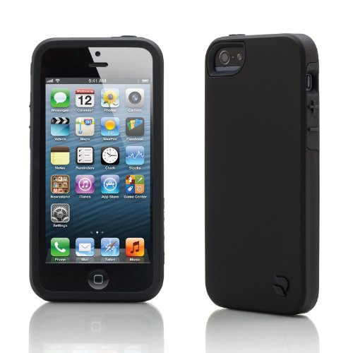 Innovez Eco Friendly Interchangeable iPhone 5 Case (Black/Black)