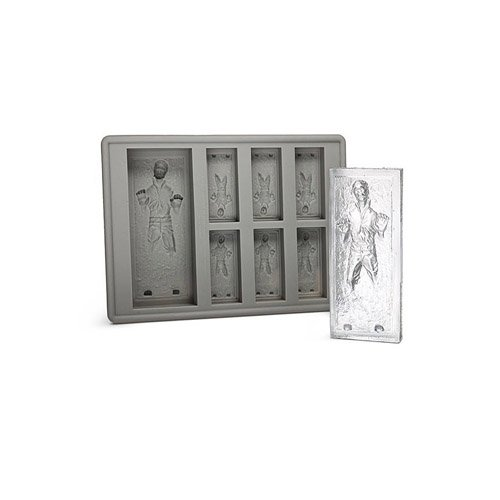Star Wars: Han Solo in Carbonite Silicone Ice Cube Tray / Mold - 1