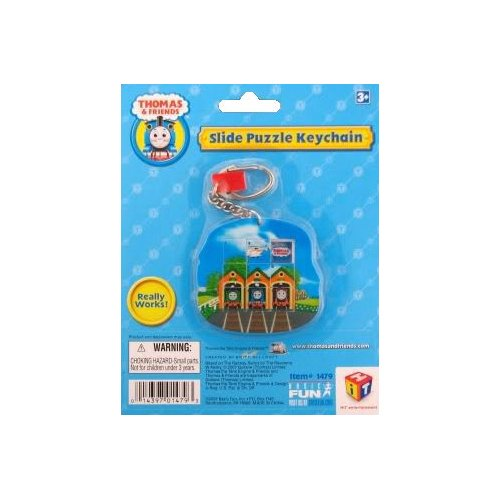 Thomas the Train Slide Puzzle Keychain - 1