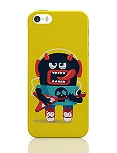 PosterGuy iPhone 5 / 5S Case Cover - Pop Art Monster Guitar Quirky, Pop Art