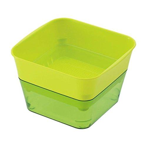 スプラウトファーム12型グリーン 3個セット[スプラウト・カイワレの栽培容器]