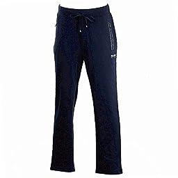 Hugo Boss Men\'s Long Pant Dark Blue Stretch Tracksuit Pants Sz: L