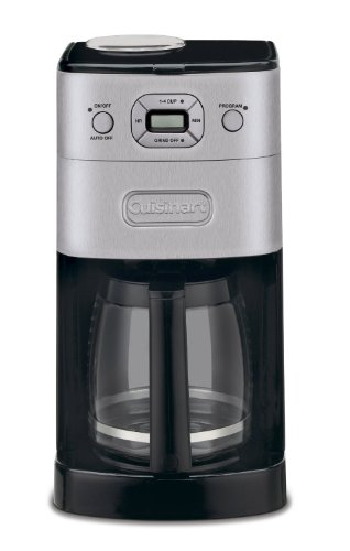 Cuisinart DGB625BC Grind-and-Brew 12-Cup Auto Coffeemaker (Certified Refurbished) (Coffee Grind And Brew Machine compare prices)