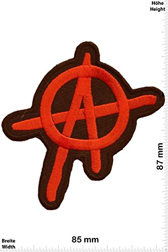 Patch - Anarchy - organe - Mix Patch - Brands - Chaleco - toppa - applicazione - Ricamato termo-adesivo - Give Away