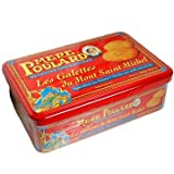 La Mere Poulard Galettes - Shortbread cookies from France, Metal Gift tin 10.5oz