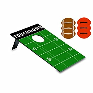 Picnic Time Football Design Bean Bag Toss Game from Picnic Time