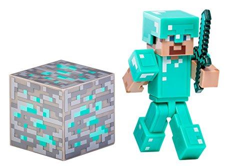 Minecraft 16504 - Diamond Steve con Accessori