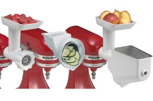 New Kitchenaid Fppa Mixer Attachment Package(fga Fvsp Rvsa Parts)for Stand Mixer Big Discount