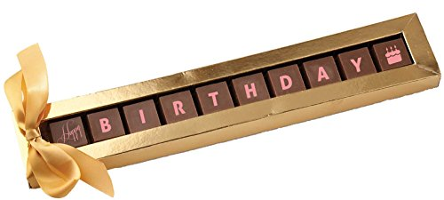 CoCoa Confection, Chocolate, Happy Birthday, 3.25 Ounce