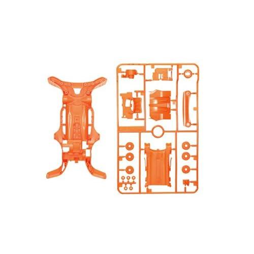 ミニ四駆限定シリーズ AR 蛍光カラーシャーシセット (オレンジ) 95028