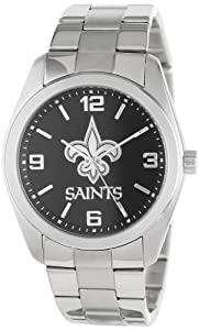 Game Time Unisex NFL-ELI-NO Elite New Orleans Saints 3-Hand Analog Watch by Game Time