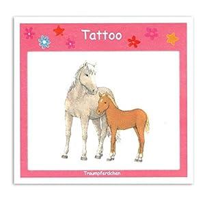 Tattoo Traumpferdchen, niedliches Tattoo, Mitgebsel zur Pferdeparty, 5cm