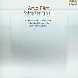 鏡の中の鏡‾ペルト作品集(SACD)(Arvo Part:Spiegel im Spiegel)