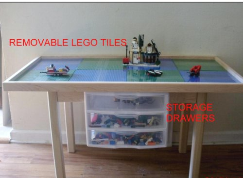 Image Result For Round Lego Table With Drawers