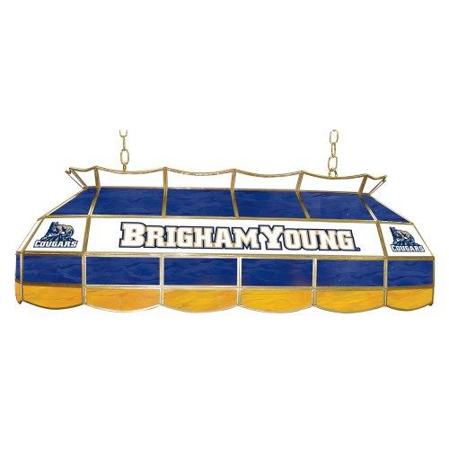"""NCAA BYU Tiffany Gameroom Lamp, 40"""" Sporting Goods Indoor"""