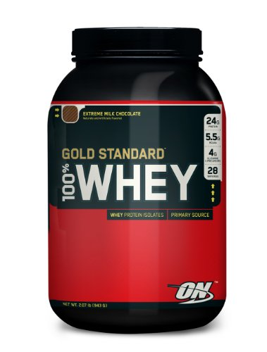 Optimum Nutrition Gold Standard 100% Whey 908 g Double Chocolate Protein Shake Powder