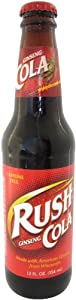 Ginseng Rush COLA Rush for the ginseng and avoid the cola wars!, 12-Ounce Glass Bottle (Pack of 12)